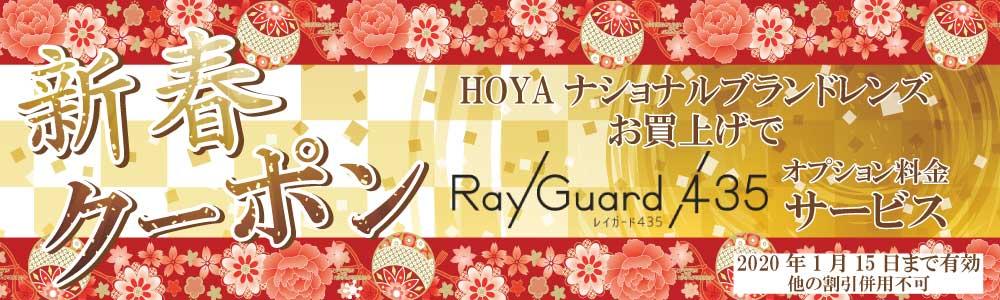 HOYAレイガード435 オプション料金サービス券